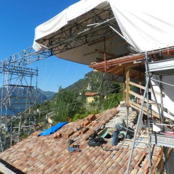 Copertura Provvisoria Cantiere Centro Noleggio Ceresio_es3