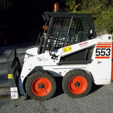 Minipala Bobcat 553 Centro Noleggio Ceresio