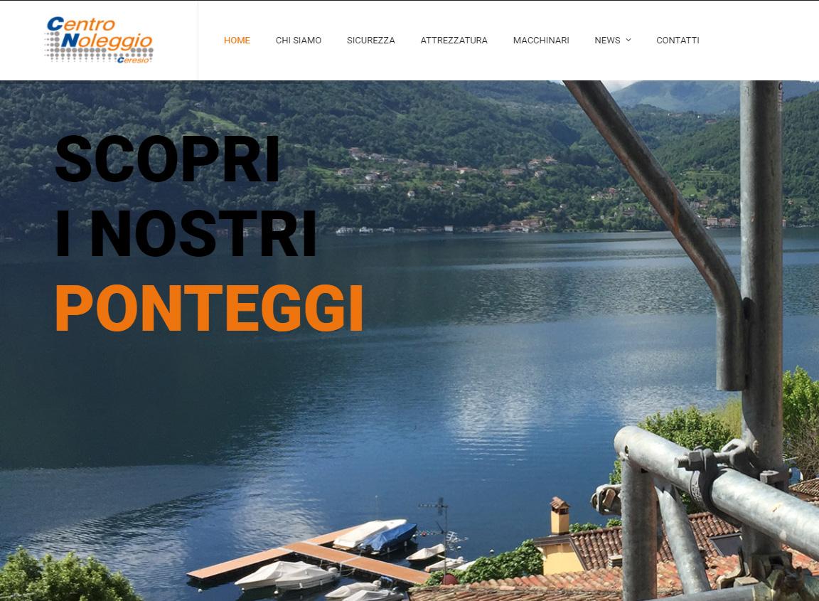 Online il nuovo sito di Centro Noleggio Ceresio